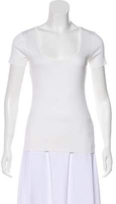 Ralph Lauren Scoop Neck Short Sleeve Top