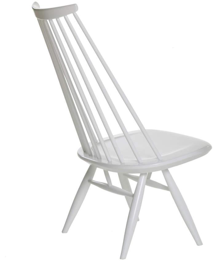 Mademoiselle Klubsessel, Weiß lackiert