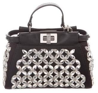 Fendi Embellished Crossbody Bag