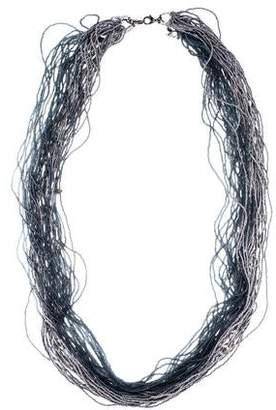 Erickson Beamon Labradorite, Crystal & Bead Necklace