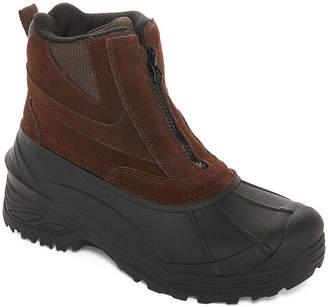 Weatherproof Mens Tahoe IV Water Resistant Insulated Winter Zip Boots