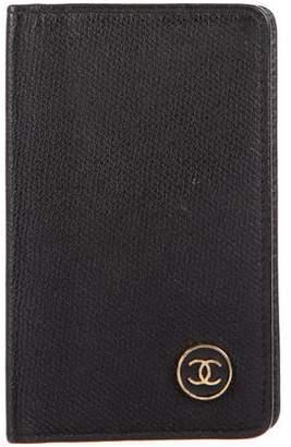 Chanel CC Calfskin Card Holder