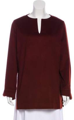 Loro Piana Cashmere V-Neck Tunic