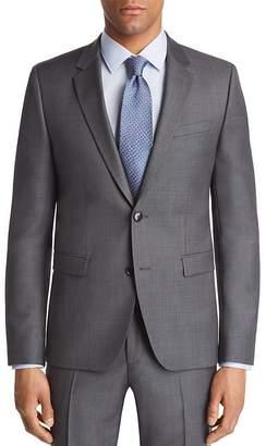 HUGO Astian Slim Fit Birdseye Suit Jacket