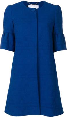 Blugirl cropped sleeves coat