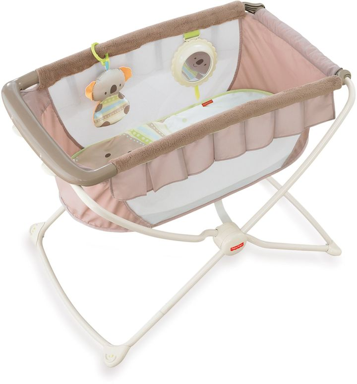 Fisher-Price Deluxe Rock n' Play Portable Bassinet