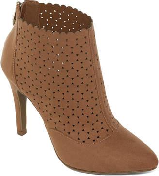 Liz Claiborne Womens Lc Serina Pumps Zip Closed Toe Stiletto Heel