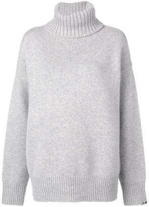 Extreme Cashmere roll-neck fitted sweater