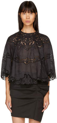 Isabel Marant Black Marlo Blouse