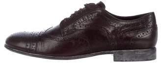 Dolce & Gabbana Wingtip Leather Brogues