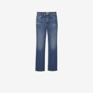 Balenciaga Straight jeans in dark blue denim
