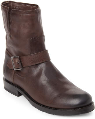 Frye Charcoal Natalie Short Engineer Boots