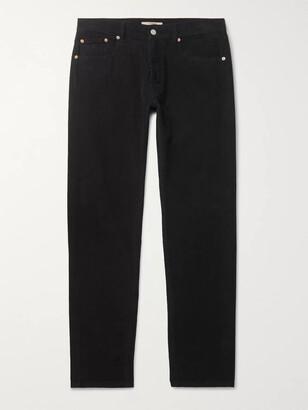Belstaff Longton Slim-Fit Cotton-Corduroy Trousers - Men - Black