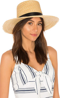Janessa Leone Ruth Boater Hat