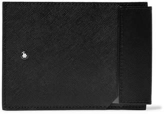 Montblanc Sartorial Cross-Grain Leather Cardholder - Men - Black