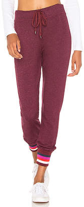 Sundry Multicolor Ribbed Sweatpant