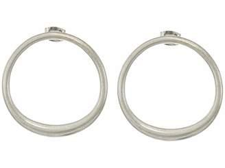Lucky Brand Modern Stud Hoop Earrings