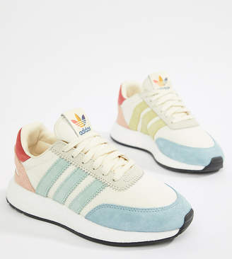 adidas I-5923 Pride trainers in rainbow