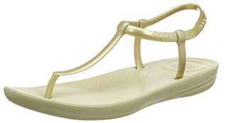 ea1cd4fafbf FitFlop Women s Iqushion Metallic Splash-Pearlised Flip Flops