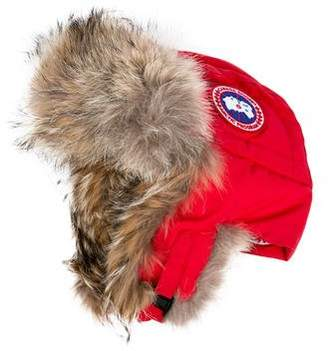 Canada Goose Fur-Trimmed Avaitor Hat