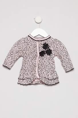 Petit Lem Pink Leopard Outfit