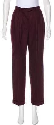 Lauren Ralph Lauren High-Rise Wool Pants