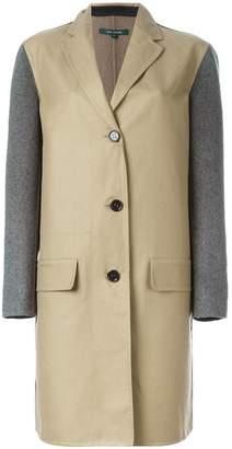 Sofie D'hoore contrast sleeve coat