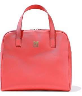 M Missoni Distressed Metallic Leather Shoulder Bag
