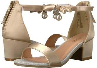 Badgley Mischka Kids Pernia Pearl Bow High Heels