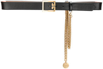 Givenchy chain buckled belt