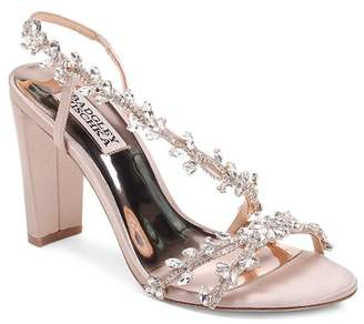 a82e26703 Badgley Mischka Women s Felda Crystal Embellished High-Heel Sandals