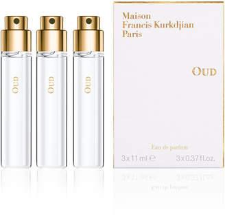 Francis Kurkdjian OUD Eau de Parfum Spray Refills, 3 x 0.37 oz.