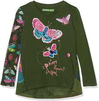 Desigual Girl's TS_Whitehorse Long Sleeve Top,(Manufacturer Size: 11/12)