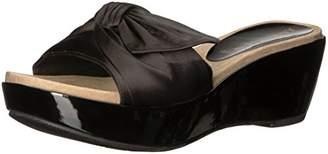Anne Klein Women's Zandal Wedge Sandal Slide