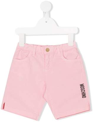 Moschino Kids logo casual shorts