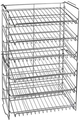 Atlantic Double Canrack - Can Food Kitchen Organizer - Silver