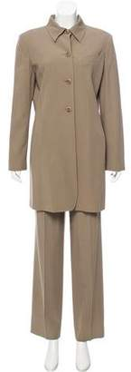 Max Mara Wool-Blend Structured Pantsuit