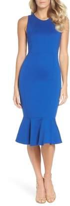 Felicity & Coco Monrow Flutter Hem Midi Dress