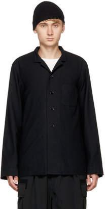 TAKAHIROMIYASHITA TheSoloist. Black Nehru Collar Pajama Shirt