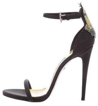 Ruthie Davis Leather Minion Sandals w/ Tags