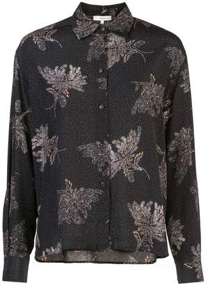 Vince loose-fit printed shirt