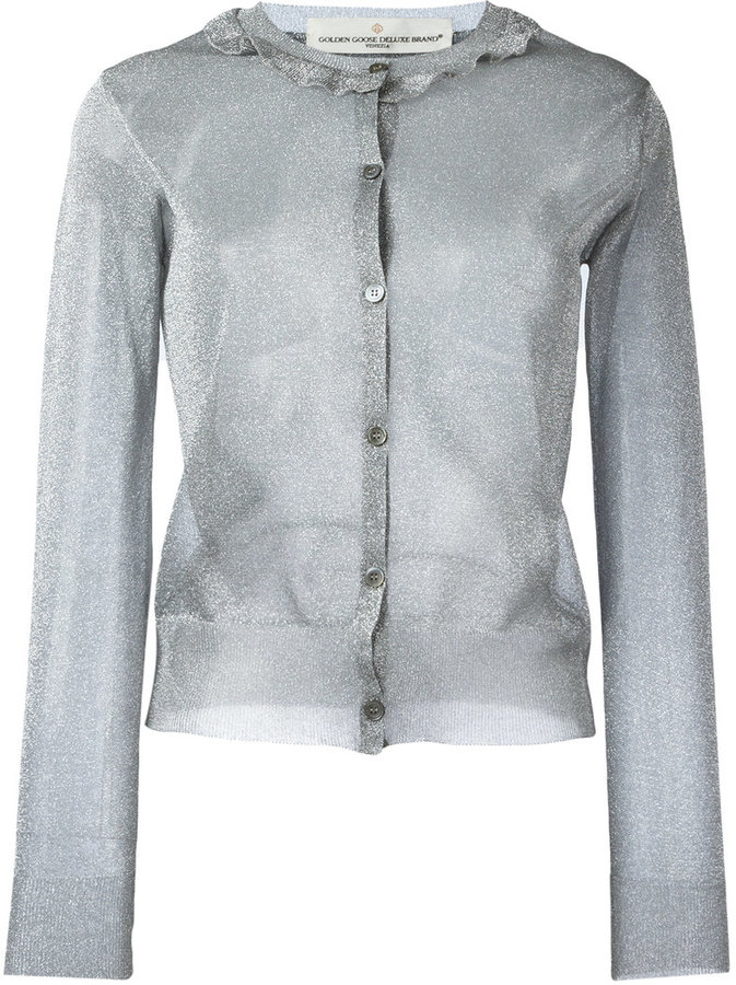 Golden Goose Deluxe Brand single breasted cardigan