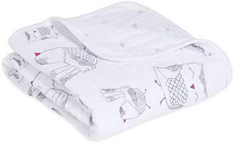 Aden Anais aden + anais Classic Stroller Blanket, Lovebird