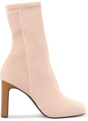 Rag & Bone Ellis Stretch-knit Sock Boots - Beige