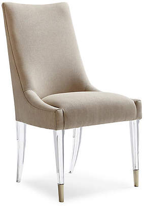 Caracole Somerset Side Chair - Taupe Linen