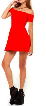 Motel Rocks Catalina Red Dress $64 thestylecure.com