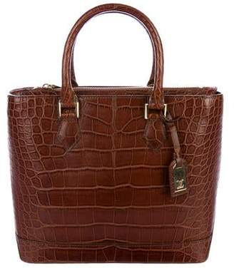 Louis Vuitton Alligator Lancelot Bag