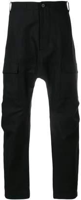 Tom Rebl dropped crotch trousers