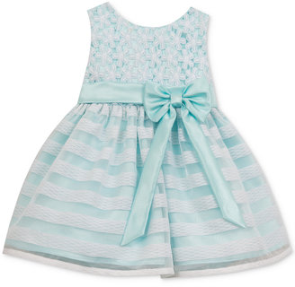 Rare Editions Flowers & Stripes Illusion Dress, Baby Girls (0-24 months) $70 thestylecure.com