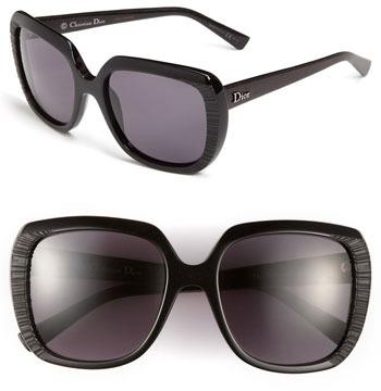 Christian Dior 'Taffetas' 59mm Sunglasses